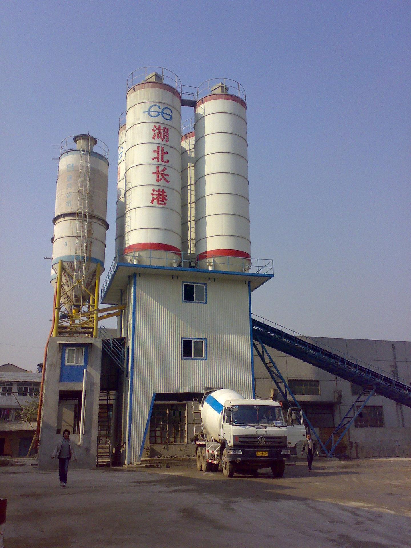 工程混凝土搅拌站 120混凝土搅拌站简易混凝土搅拌站厂家图片