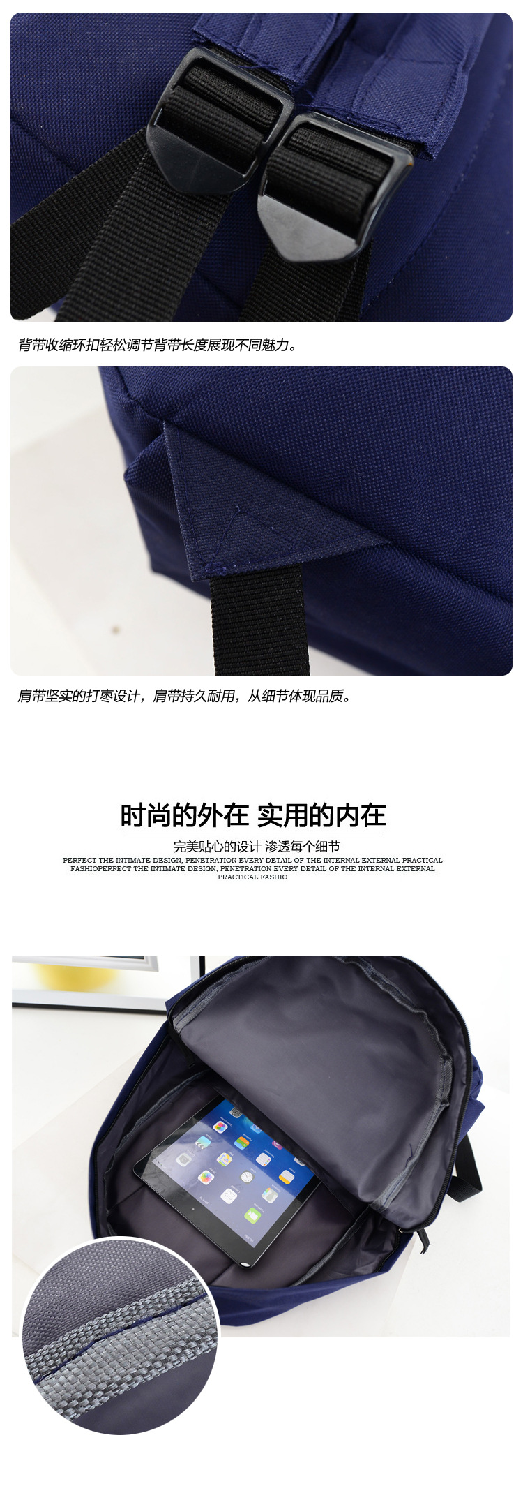 Fashion women canvas school bag rucksack girl cute for A href decoration none