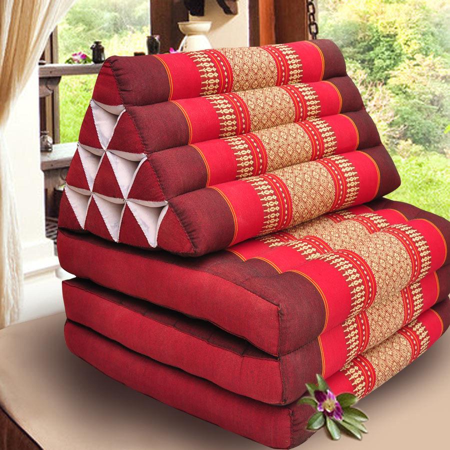 Floor mats to sleep on - Thai Triangle Cushion Layer 3 Ground Floor Bay Window Mat Tatami Cushion Sleeping Pad 7098