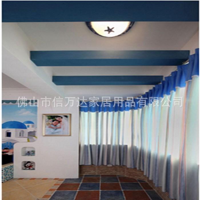 高档复式中空卧室窗帘