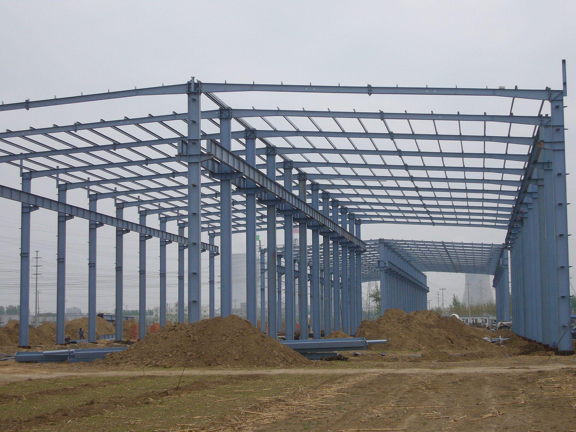 钢结构建筑图片