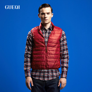 Hot Spring models GUEQI lightweight men's vest Agent nine colored vest wholesale fashion lovers