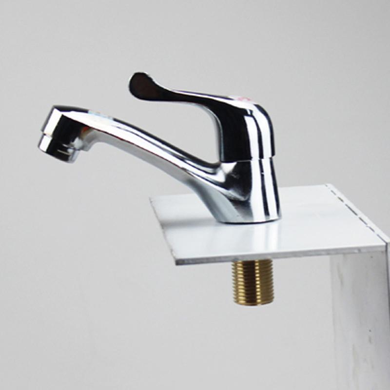 水暖洁具批发 冷热混水面盆龙头 双联面盆水龙头 洗手盆水龙头图片