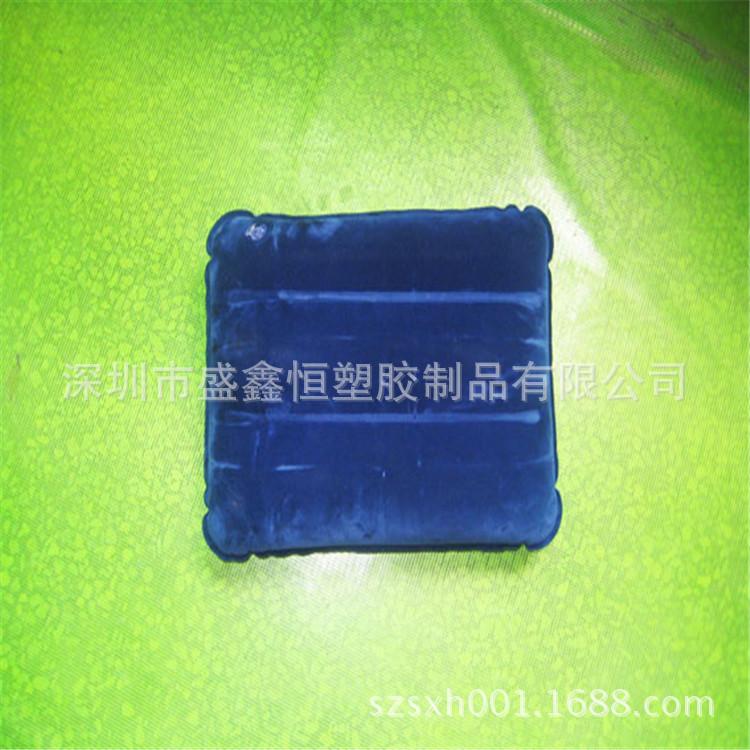 厂家定制多种颜色充气拉带靠枕 有现模欢迎随时来电订购