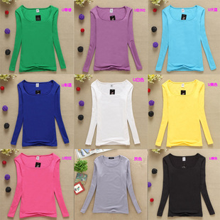 Lowest price! Fall Women's Fashion Ali Want to spread the supply of women's shirt long-sleeved T shirt Ladies