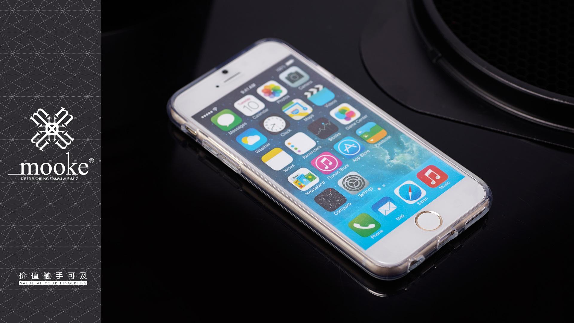 【iphone6苹果透明手机壳高清保护套PCiphone设置铃声itunes图片