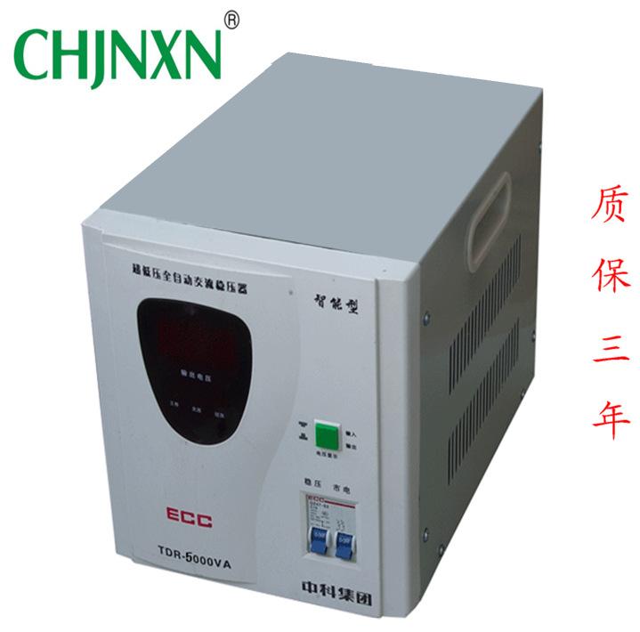厂家热销TDR5K数显稳压器 单相 干式稳压器 高品质稳压器图片