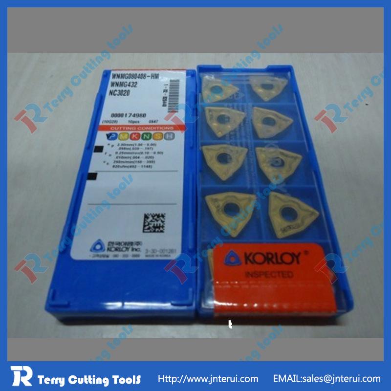 数控车刀片 进口刀粒TNMG160408-HS PC9030 克洛伊进口正宗