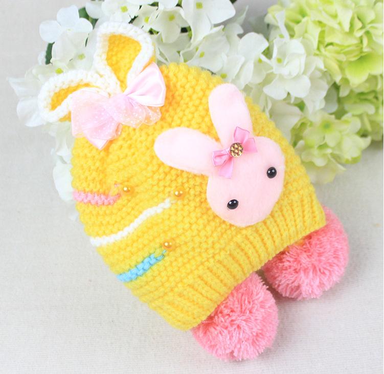 小兔子护耳帽_