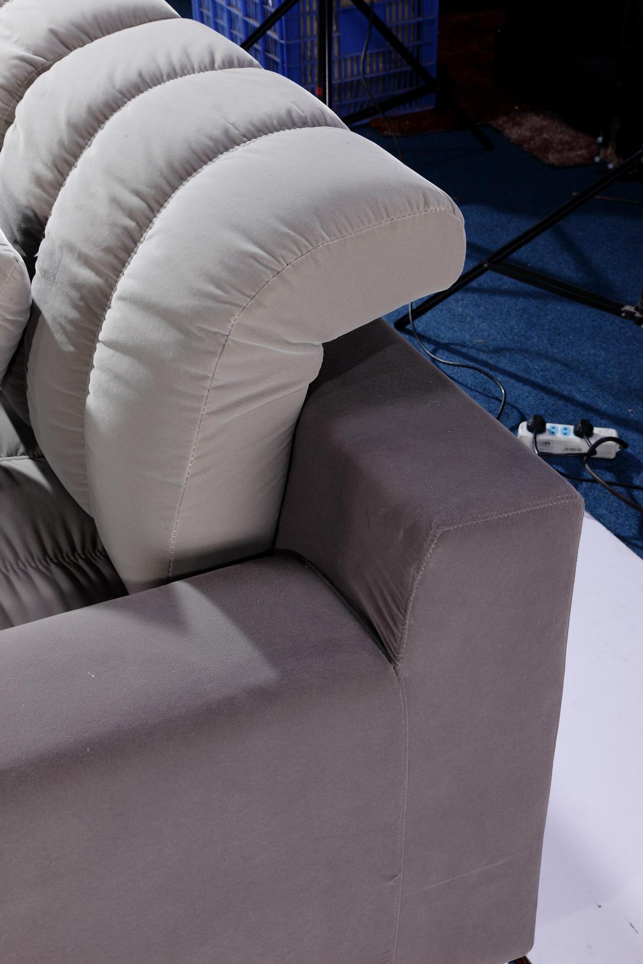布艺沙发厂家直销 现代休闲转角小户型布沙发 简约客厅家居组合