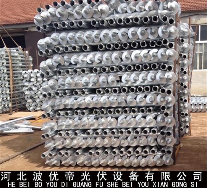 热销产品 预埋基桩 螺旋钢桩 预埋地桩 批发价