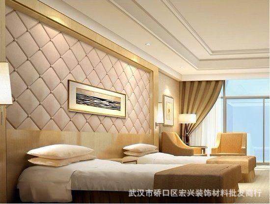 客厅电视背景墙软包 卧室背景墙软包效果图价格及生产厂家