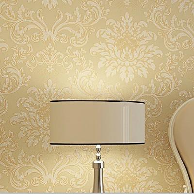 欧式无纺布撒金墙纸 客厅卧室满铺壁纸