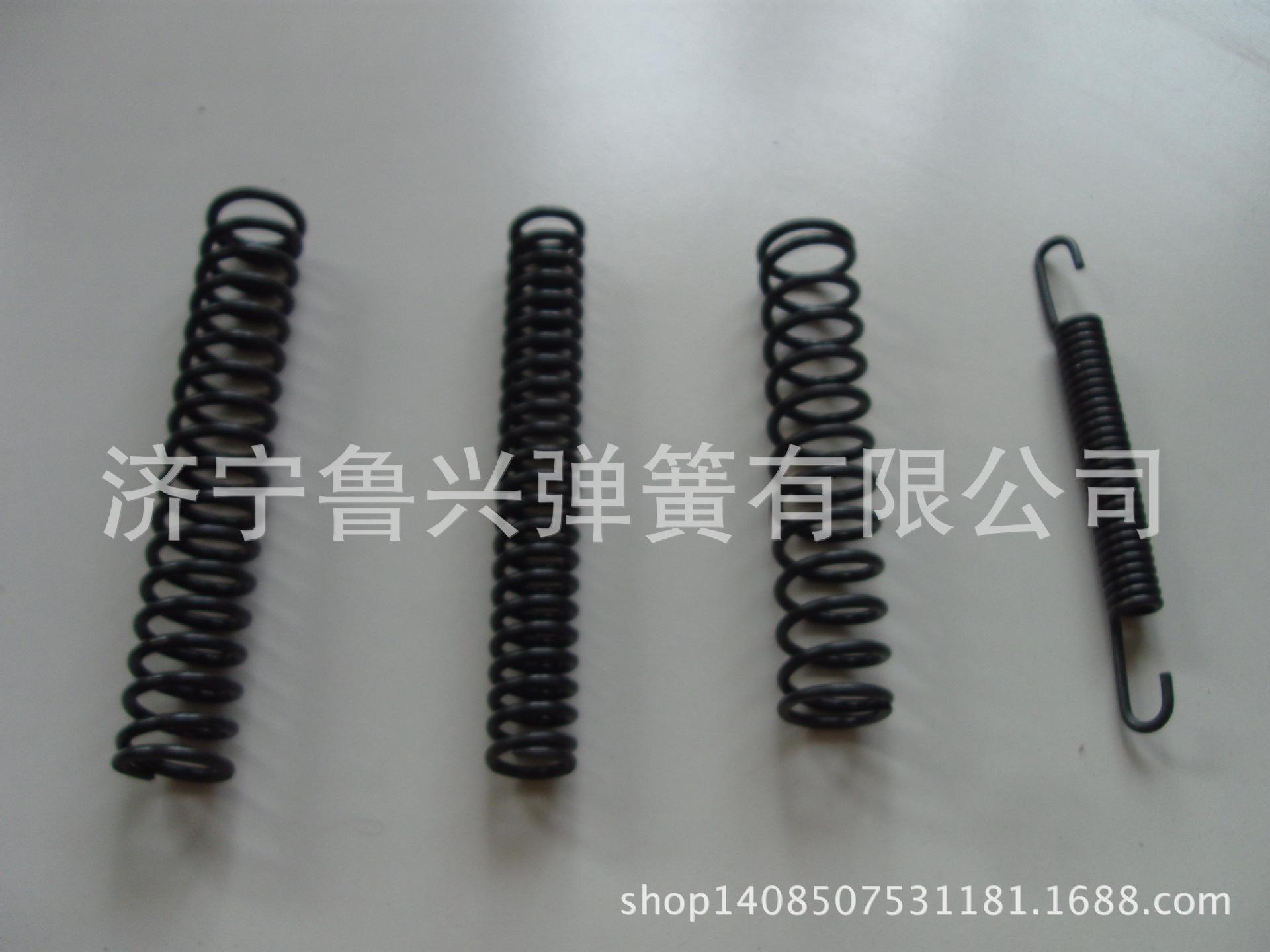 生产销售 大型减震压簧 不锈钢弹簧 五金压缩弹簧 济宁鲁兴