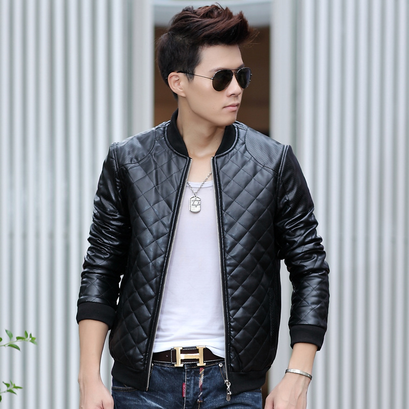 Casual male leather jackets – Modern fashion jacket photo blog