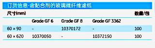 英国Whatman10370373含黏合剂玻璃微纤维滤纸GF10 SHTS 285x458MM
