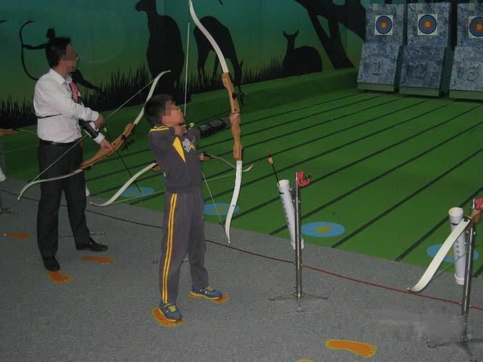 狩猎弓箭 体育比赛 户外用品 射击 收藏级 传统花容反曲弓