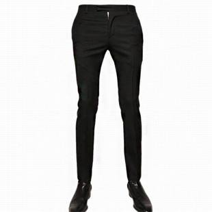 Spring and summer men's Korean Slim trousers men's fashion casual star with money stretch pants Slim