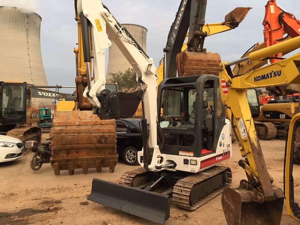 美国原装进口bobcat山猫小型挖掘机3.6吨