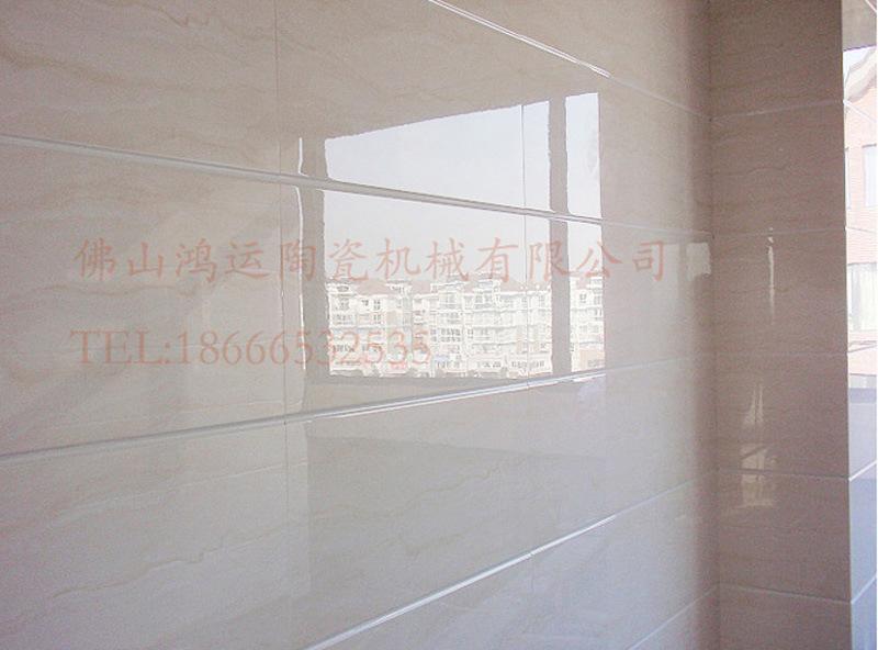 供应佛山鸿运瓷砖加工设备 14头瓷砖磨边倒角机 瓷砖拉槽机图片_9