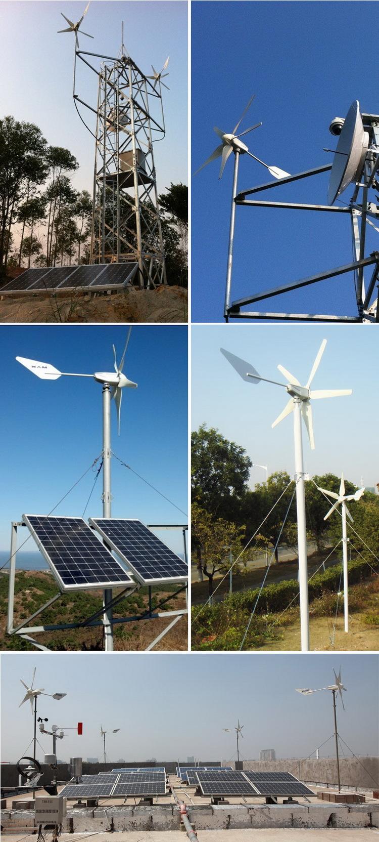 小型风光互袂发电系统