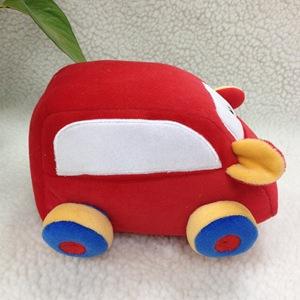 【创意玩具】厂家批发定制汽车玩偶公仔 卡通毛绒小汽车创意玩具