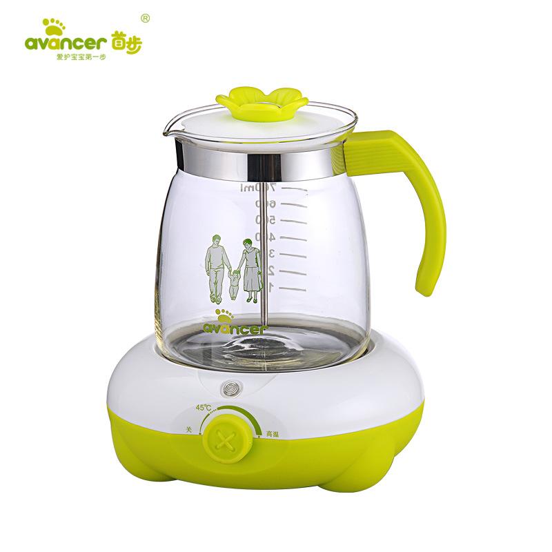 法国首步恒温调奶器批发 婴儿多功能冲奶器恒温水壶冲奶机温奶器