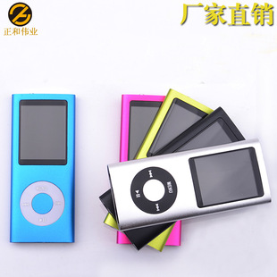 Slim MP4 Apple's fourth generation of ultra-thin 4-generation Walkman MP4 factory direct wholesale MP4 card long lif