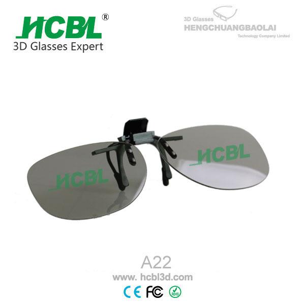厂家供应生产3D眼镜,近视夹片3D眼镜,圆偏光3D眼镜