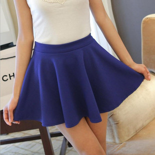 2015 summer paragraph sweet candy color high waist skirts tutu skirt package hip loose lady sundress wholesale