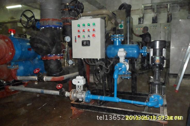 空调循环水清洗系统 智能冷凝器胶球在线清洗装置设备