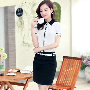 2014 summer new fashion fresh ensemble with Belt