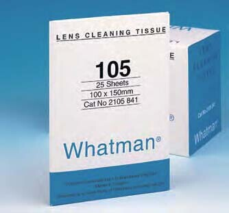 Whatman2105-841擦镜纸105 10x15CM 25×25/PK LENSTISSUE | whatman (沃特曼)