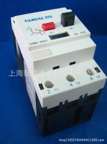 天水二一三电动机保护型断路器GSM8-8080