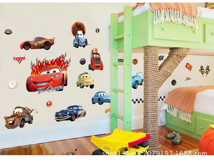 Lightning McQueen Wall Decals Removable Stickers Decor Kids Nurseryovable Wall  Decal For Kids