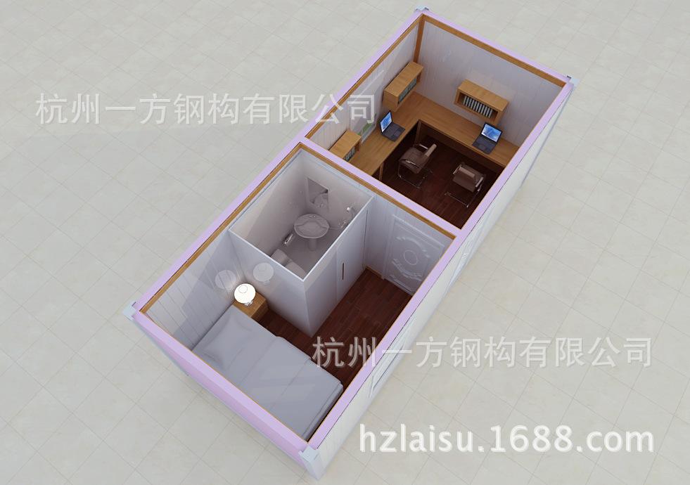 【杭州房屋v房屋设计新颖时尚集装箱端子住宿pcb板针座一方图片
