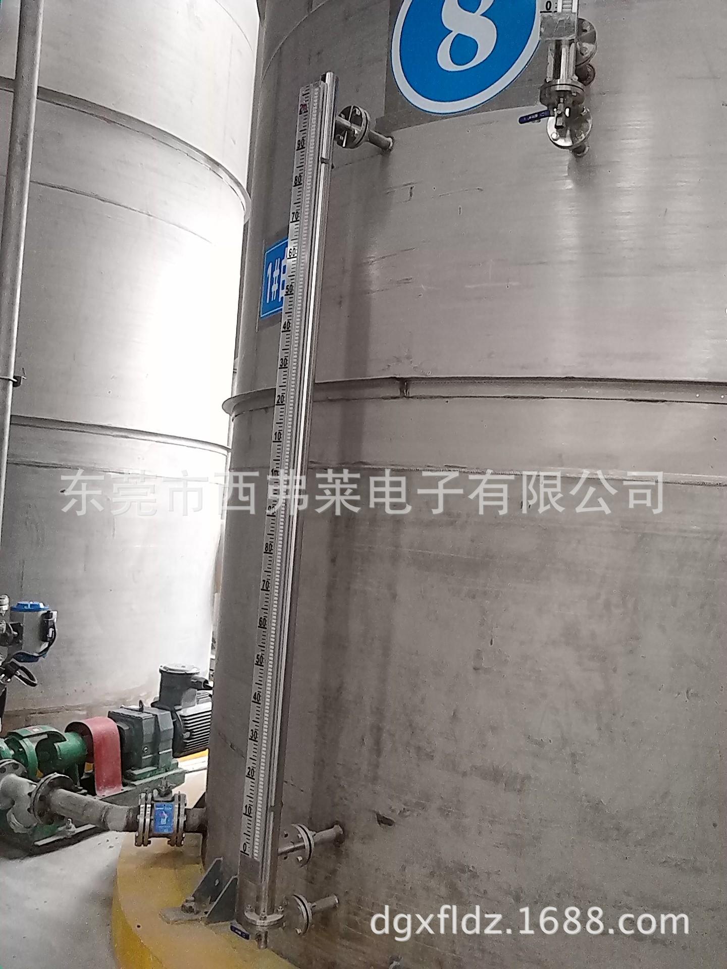 DN20法兰磁翻柱液位计|广东活动法兰安装磁翻板液位计