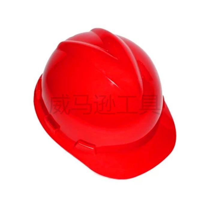 ***威武V型防护帽/ 建筑工地施工帽 /889型***安全帽厂