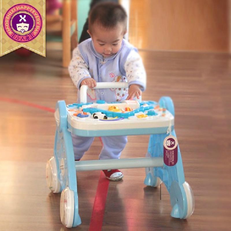 穗花小人类101学步车 婴儿手推学步车 多功能婴儿学步推车