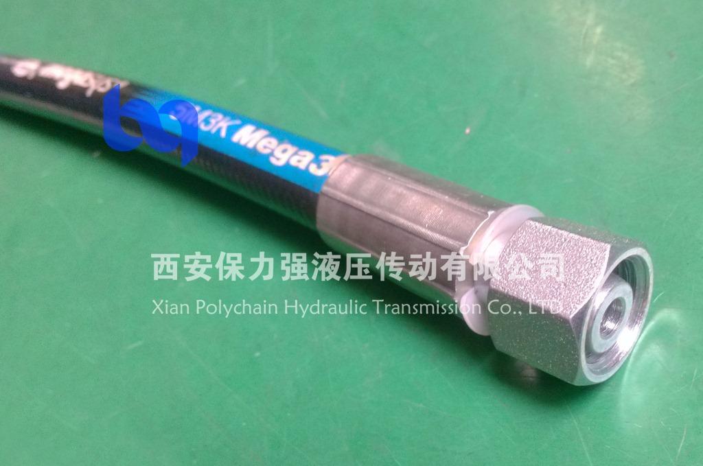 陕西盖茨GATES软管5M3K 高压耐温耐磨胶管 胶管总成 一体式