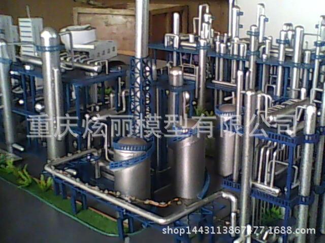 供应气站模型工业制造业厂区机械模型加工重庆炫丽模型有限