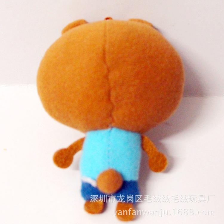 卡通女孩人物造型玩具定做 公司活动人偶 企业形象人偶公仔