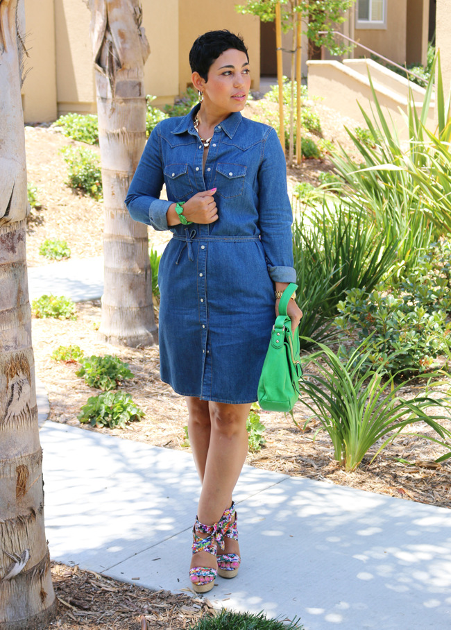 New fashion womens midi shirt dress long sleeve denim for Blue dress shirt outfit
