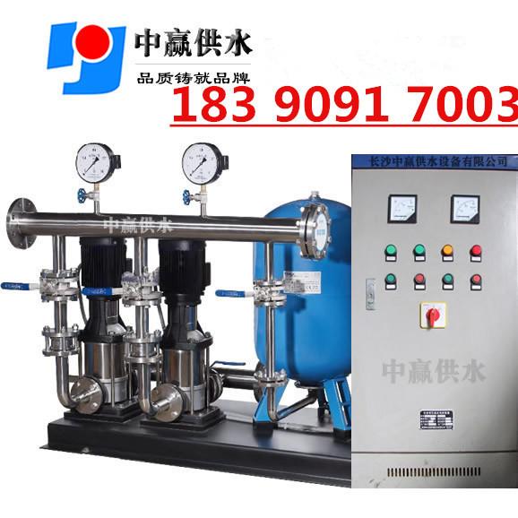 恒压变频供水系统 供水压力罐 变频恒压供水控制器 无塔供