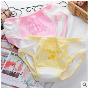 Boys and girls cotton underwear children triangle pants modal shorts safety pants factory direct wholesale