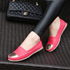 The new 2015 han edition Single shoes doug shoes student flat shoes for women's shoes