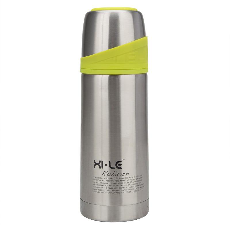 希乐真空不锈钢保温杯子弹头保温杯保温壶火箭杯 XB3502正品图片