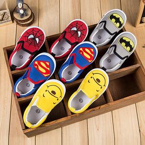 爱绿羊2015卡通图案秋季单鞋儿童帆布鞋女童鞋板鞋