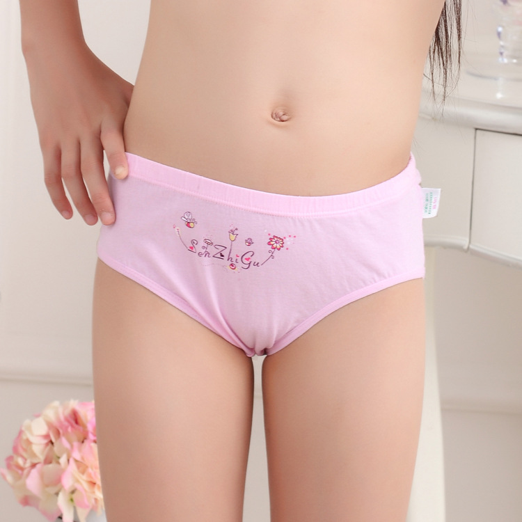 Drums Mori children new girls cotton underwear briefs pants litt