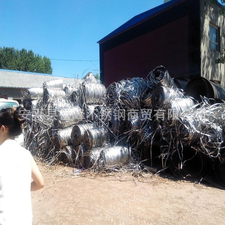 唐山不锈钢精铸炉料,不锈钢边丝,304料豆